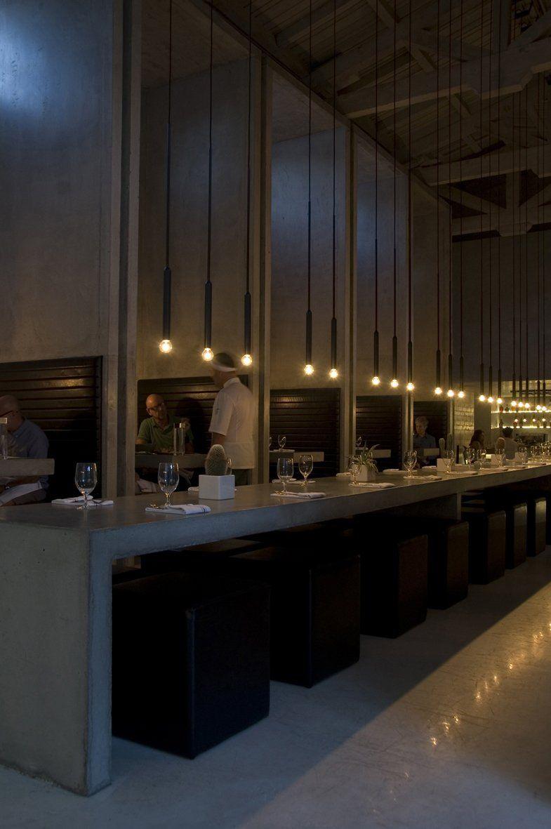 Workshop Kitchen and Bar lighting Design by .PSLAB - interior design ...
