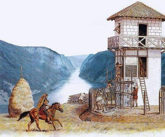 Outpost Ancient Warfare Roman History Ancient Romans