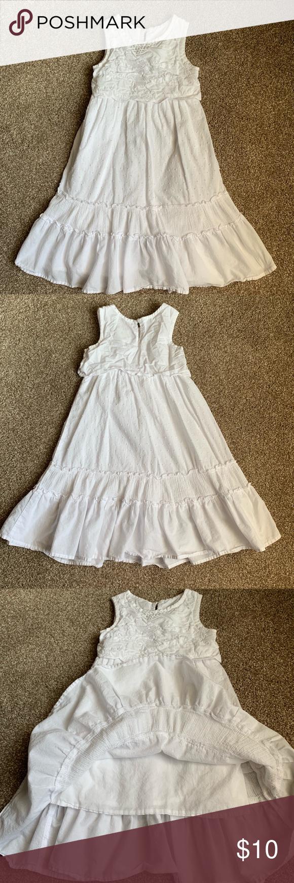 Toddler Girl S 2t Cherokee Long White Dress Toddler Girl S 2t Cherokee Long White Dress Has Lining Inside Dress Long White Dress Toddler Girl Dresses Dresses [ 1740 x 580 Pixel ]