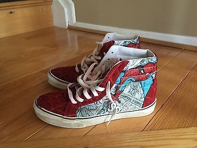 VANS Sk8 his Marvel edition size 7 spider man https://t.co/boV2dfgYzy https://t.co/AqV6WGdBxf