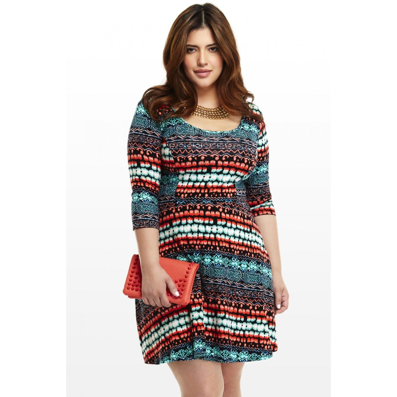 7941863fd0 Increibles vestidos casuales para gorditas