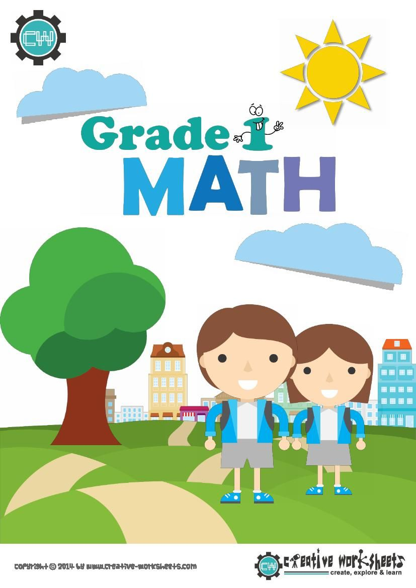 Grade 1 Math Bundle | Fun math worksheets, 100 fun and Math projects