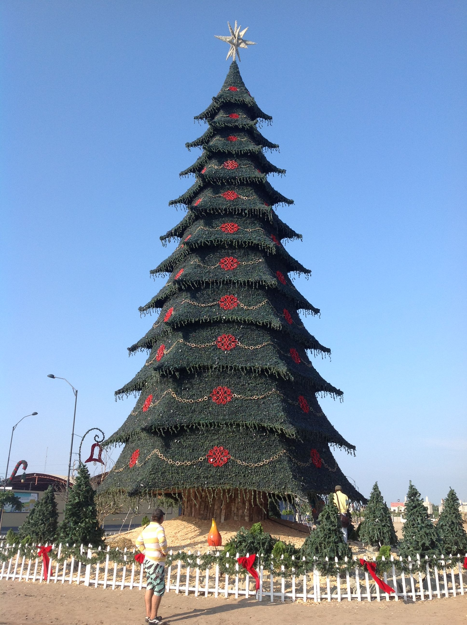 Christmas in ecuador christmas worldwide pinterest for A common decoration for the top of the tree