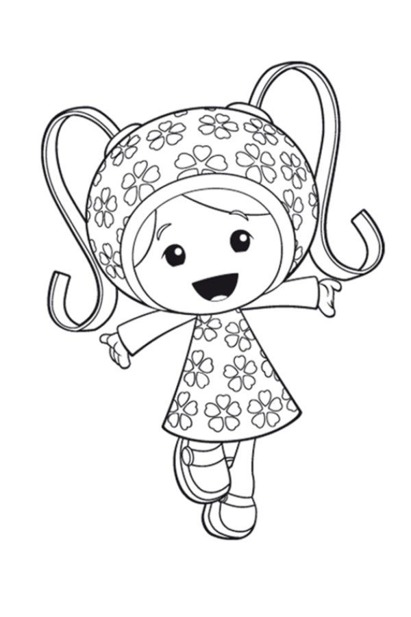 team umizoomi coloring pages - Team Umizoomi Bot Coloring Pages
