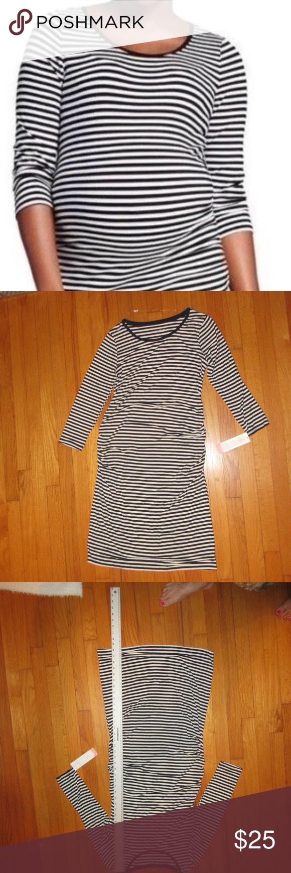 Nwt liz lange maternity dress sleeve nwt in my posh picks