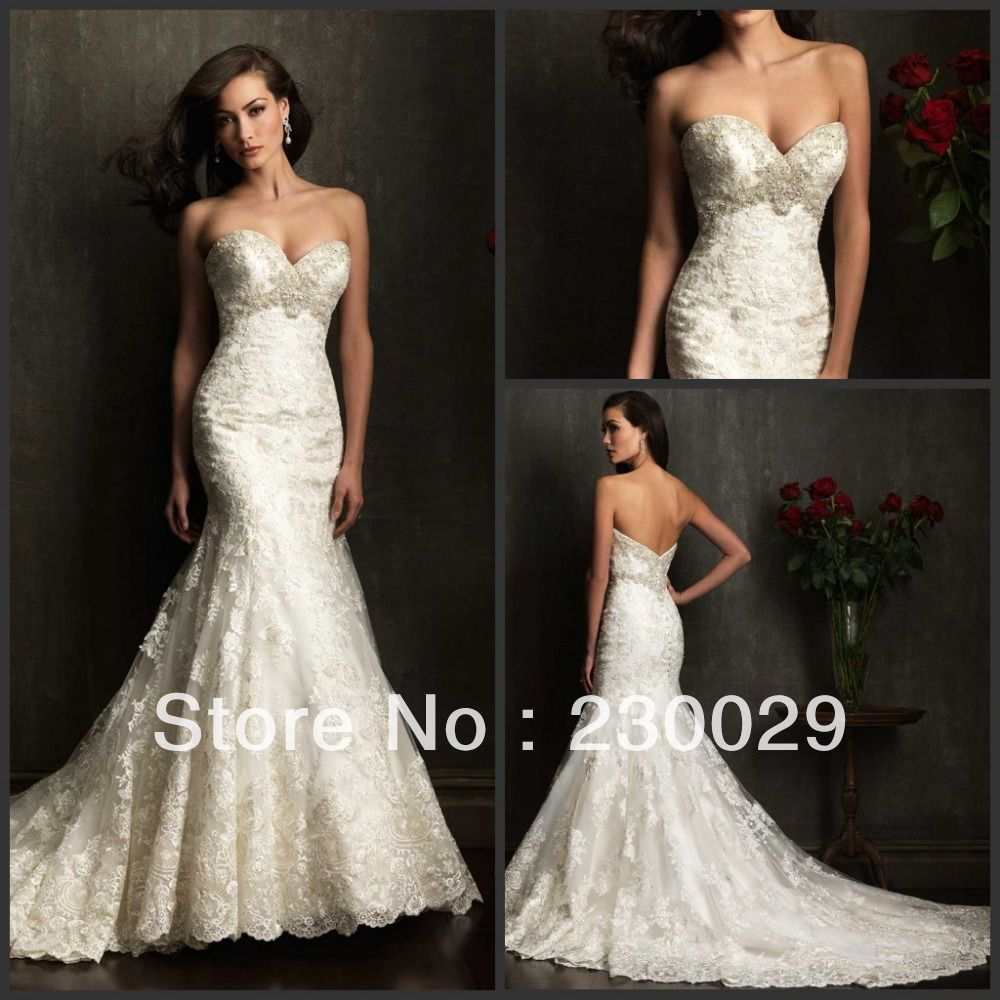 High quality new style floorlength mermaid lace mermaid free