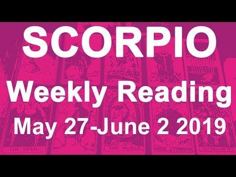 scorpio weekly 27 to 2 tarot
