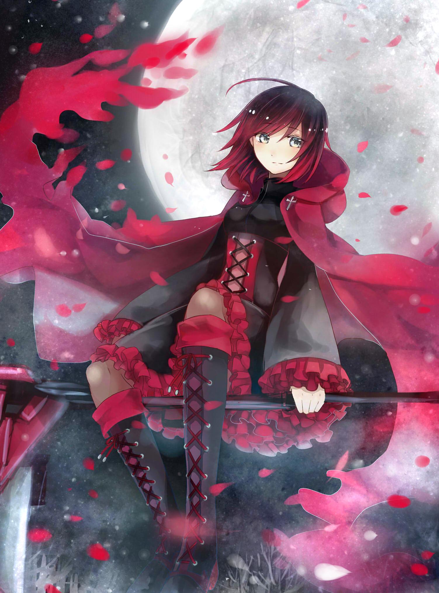 Ruby rose  | RWBY | Rwby anime, Anime, Rwby