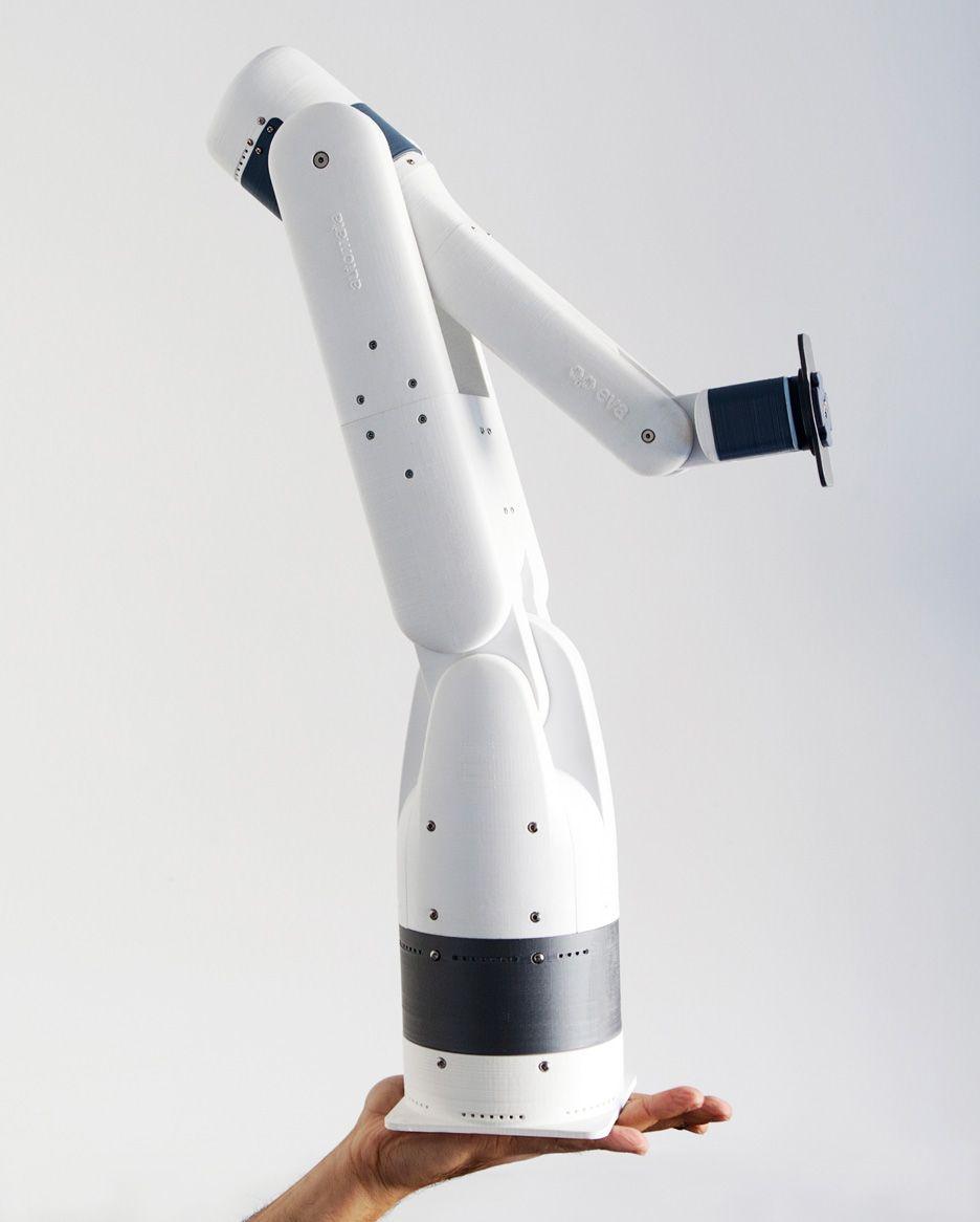 Eva plastic robotic arm by Automata | Digital Fabrication | Robot