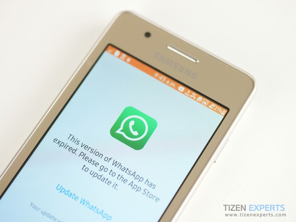 WhatsApp messenger has expired problem affecting Tizen mobiles, here