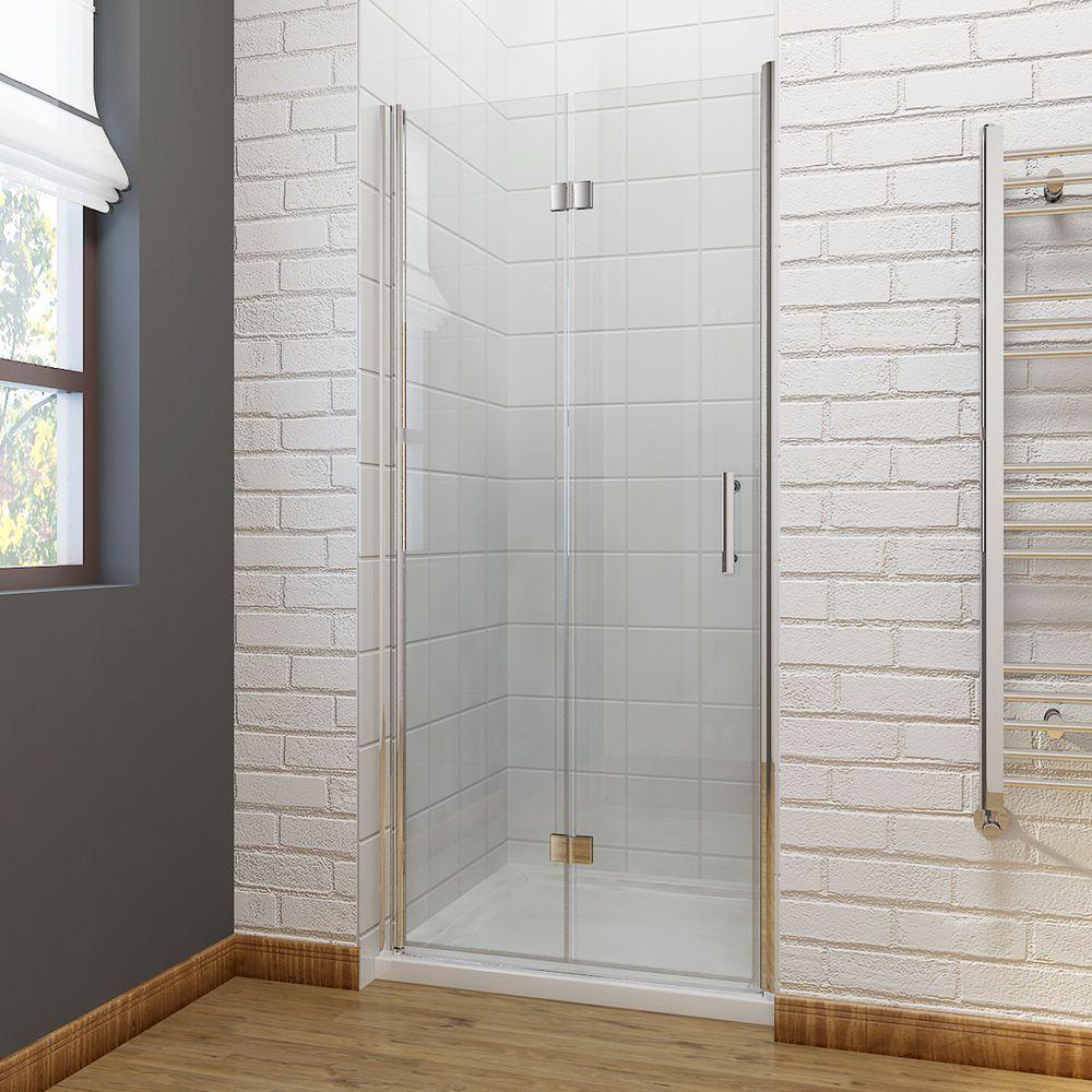 Bifold Frameless Shower Door Bifold Frameless Shower Enclosure