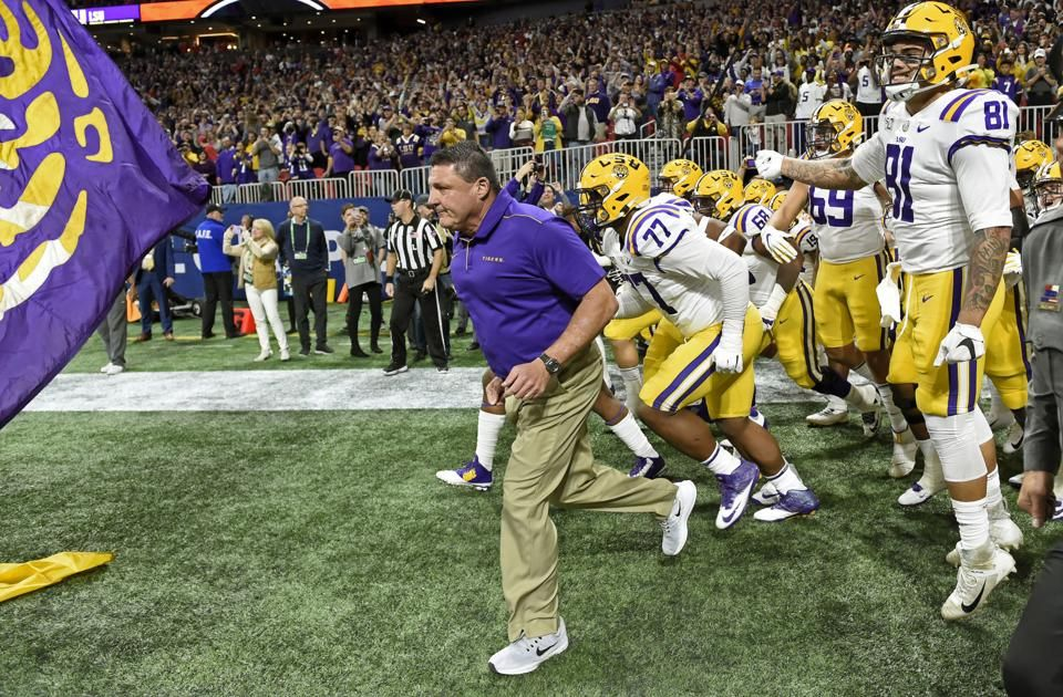 Lsu Football Coach Ed Orgeron Files For Divorce From His Wife Of 23 Years Kelly In 2020 Lsu Football Lsu Football Coach