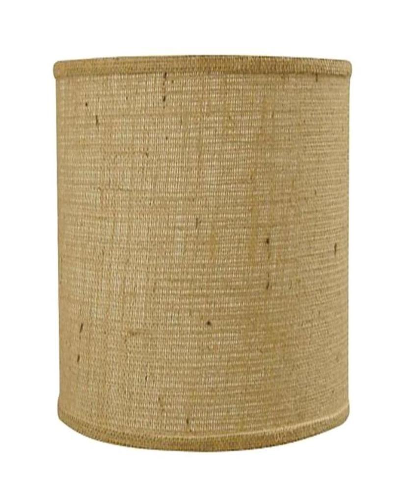 Slender drum burlap lamp shade 10wx10h usa american made lamp slender drum burlap lamp shade 10wx10h mozeypictures Choice Image