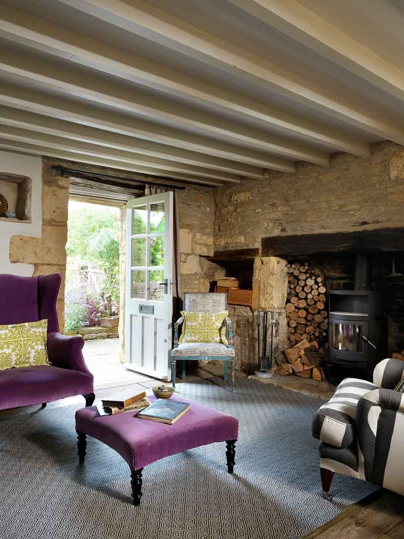 The epitome of country living caroline holdaway and her lovely interiors are on the list