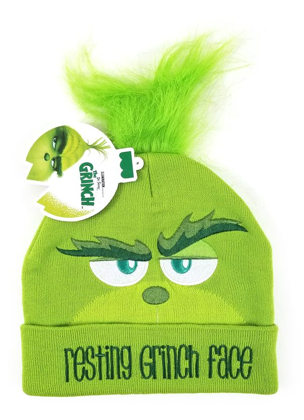 Shop Grinch Beanie Hats Love it! You can get it here also   hedgehogscorner.com Related To  Dr Seuss 35ea97fdbbd4