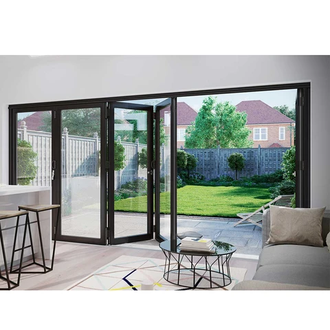 China Wdma Aluminium Folding Glass Doors Soundproof Windows Doors China Windows And Doors Manufacturers As In 2020 Door Glass Design Folding Doors Soundproof Windows