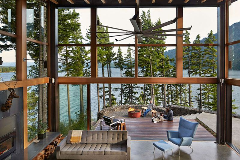Base Camp By Johnston Architects Architecture Vacation Home Solar Design