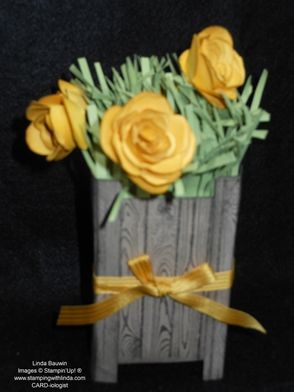 Flower Pot Linda Bauwin - CARD-iologist Helping you create cards from the heart.