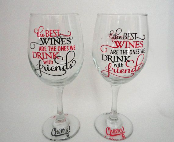 Funny Wine Glass , Wine Gift , Personalized Wine Glasses