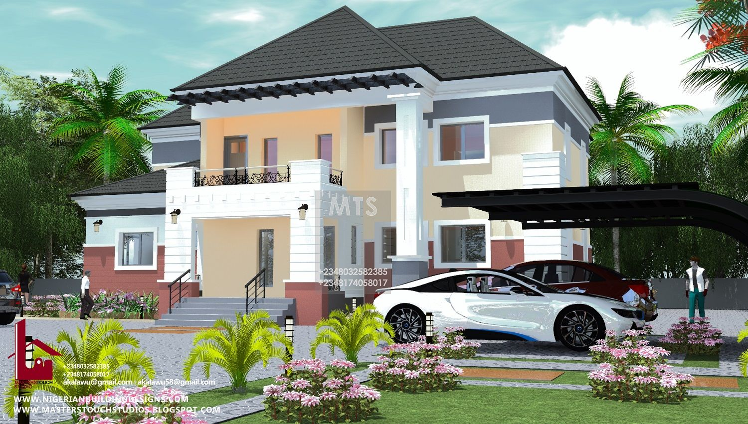 4 Bedroom Duplex Archives Duplex Design Row House Design House Plan Gallery