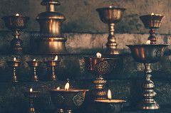 Prayer Lamps (Rohit Lal) Tags: travel india mountains travelling trekking trek fire outdoor buddhist prayer hills adventure butter tibetan lamps spiritual himachal himachalpradesh travelphotography keylong prayerlamps photographytrek himalayanexplorers kyelang rohitlalphotography