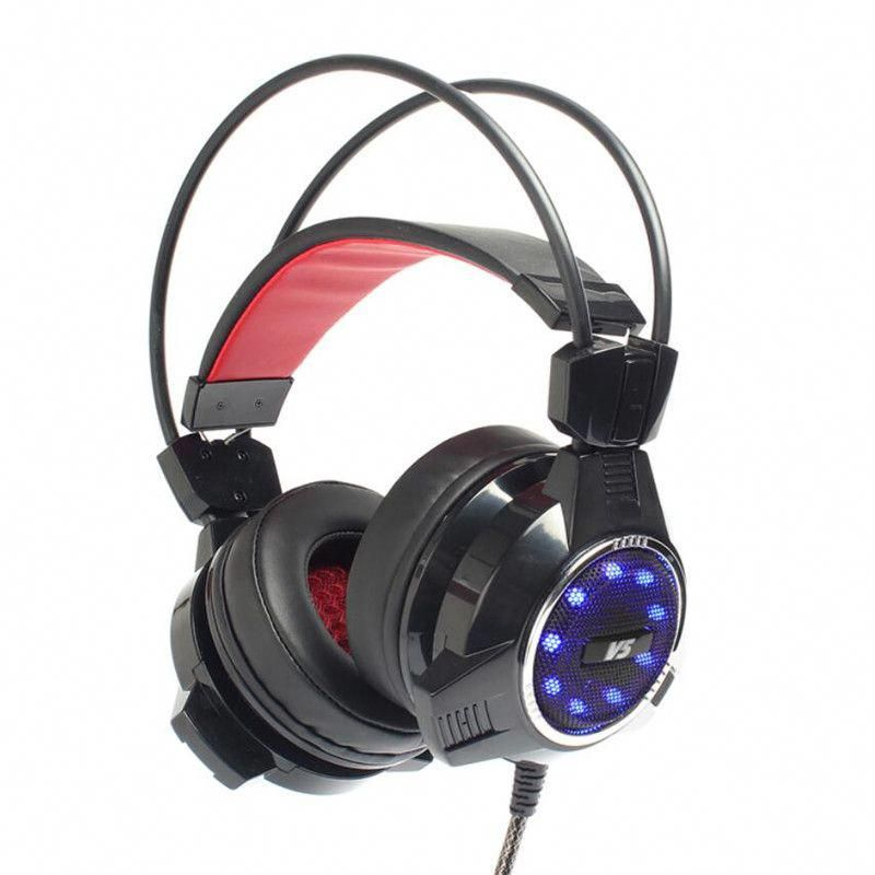 Hot Xiberia V5 Gaming Headset Big Over Ear Headphones Casque Audio