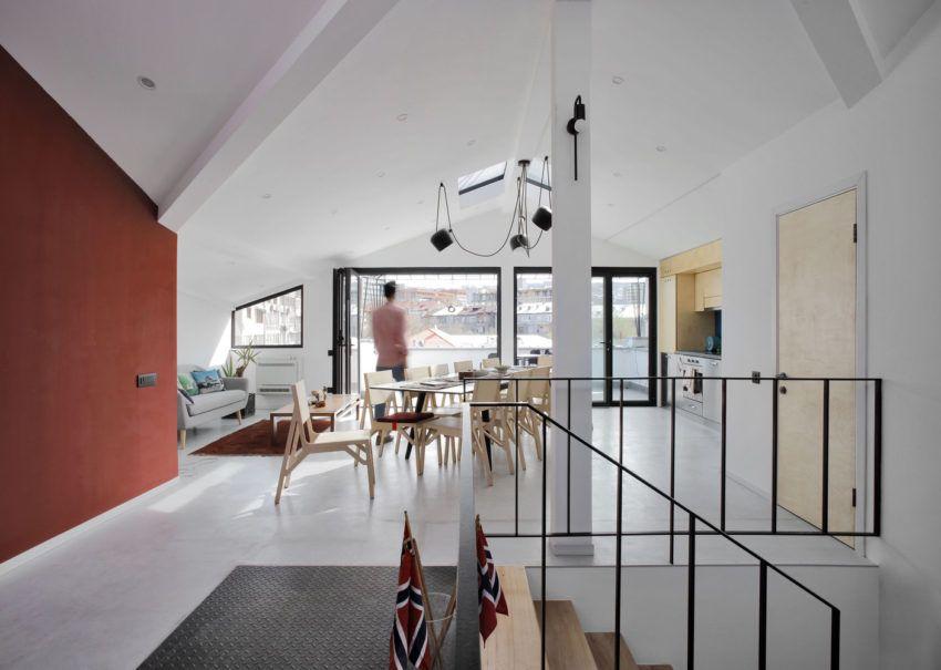 Beton Boden Wohnzimmer Esszimmer Gestalten Einrichten Fussbodenmobel