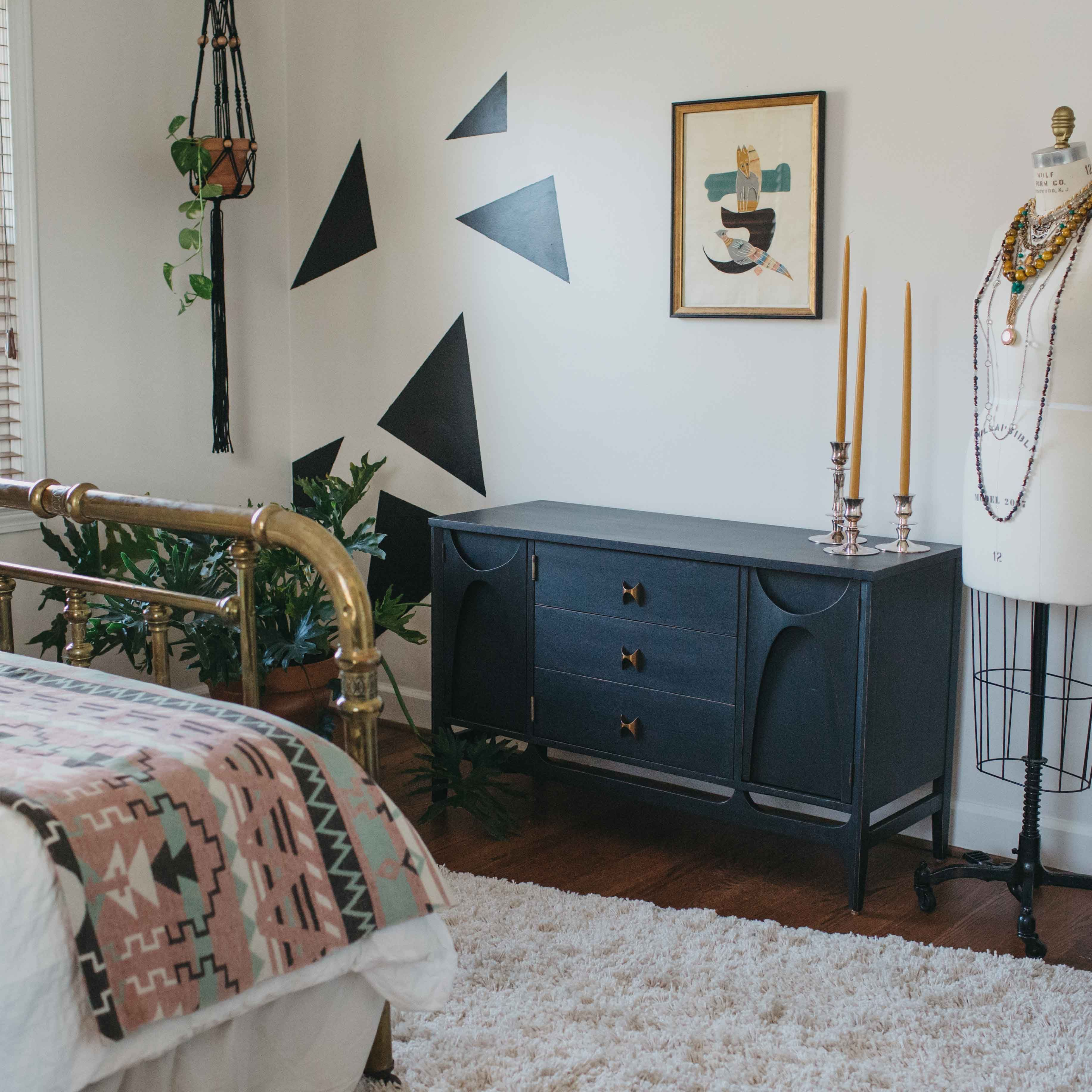 A Vintage Filled Home In Greenville, SC Designed To Feel