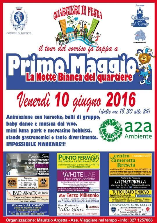 La Notte Bianca del Quartiere Primo Maggio http://www.panesalamina.com/2016/48545-la-notte-bianca-del-quartiere-primo-maggio.html