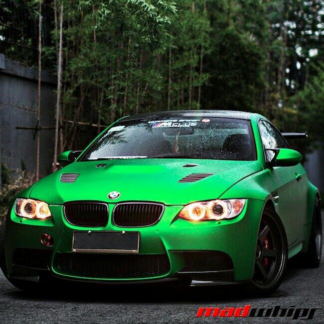 Bmw X6m 0 60: Matte Green BMW M3 GTS
