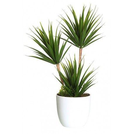 maceta con palmera artificial decoración | mi precioso jardín