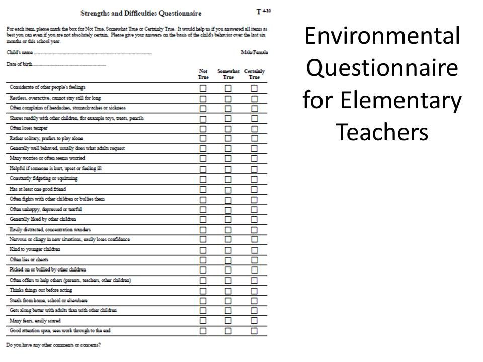 2 of 7 Behavioral Data Collection Examples (Environmental ...