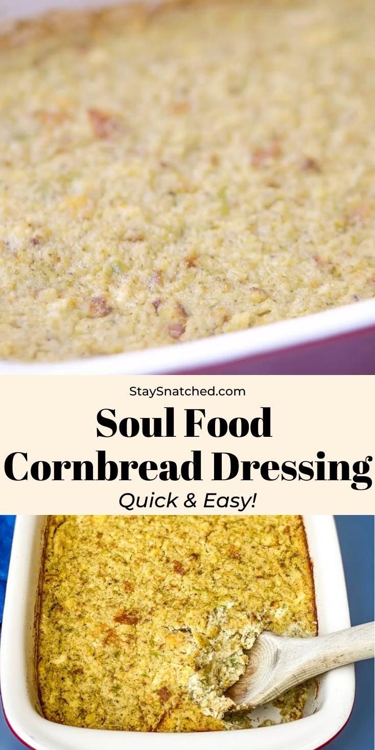 Easy Southern Cornbread Dressing -   19 dressing recipes cornbread southern ideas