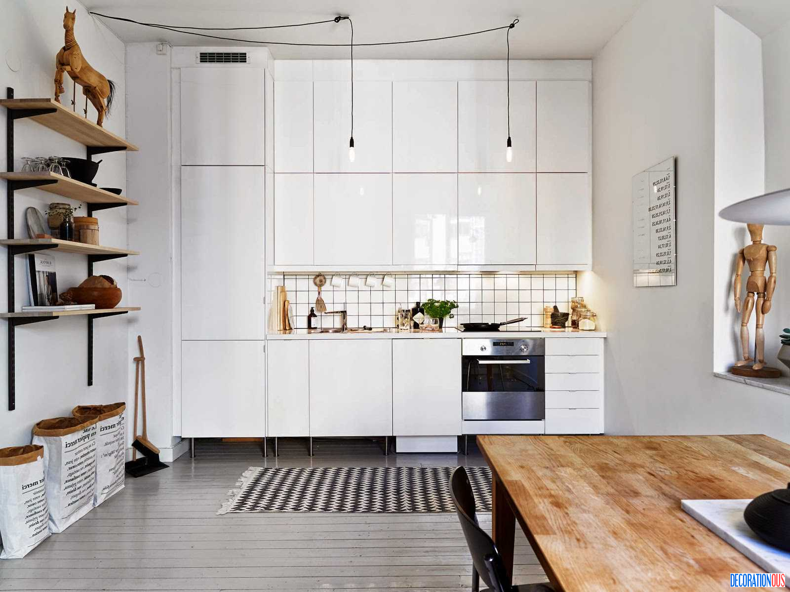 An Apartment With A Zest For Show! - http://www.decorationous.com ...