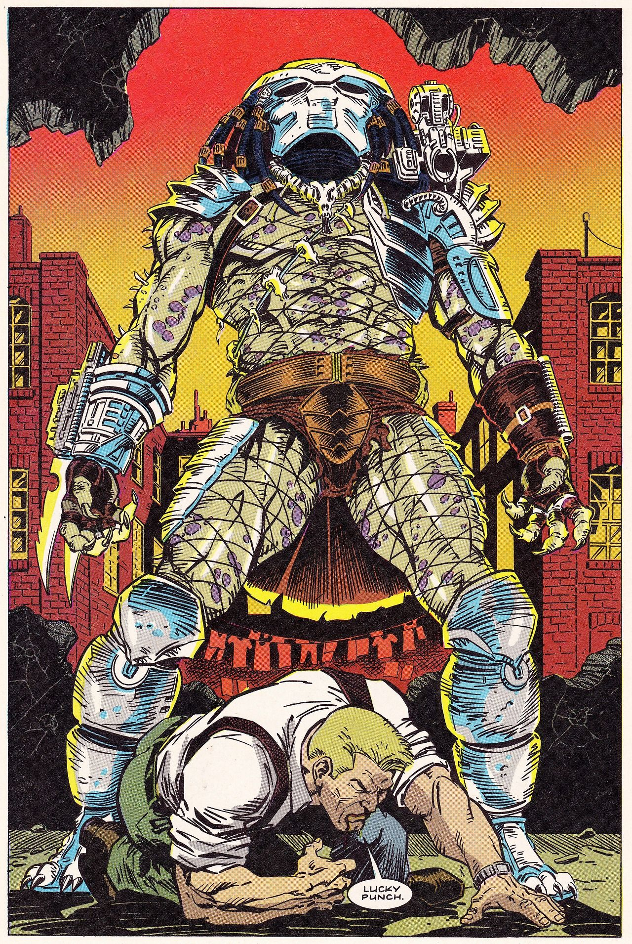 PREDATOR 1 (Sept. 1989) Chris Warner (pencils), Sam de