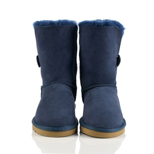 UGG 5803 Women's Bailey Button 5803 Navy Blue Boots Hot Sale
