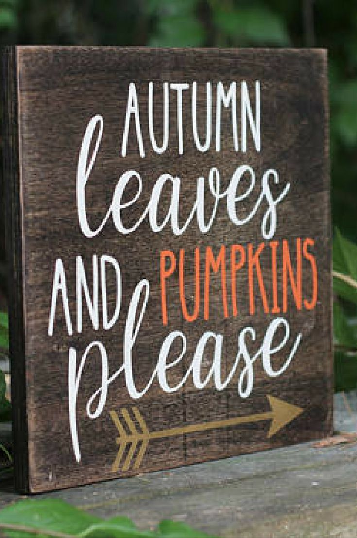 This A Great Decoration For The Fall At The Front Door Fall Wood Signs Rustic Fall Decor Fall Decor