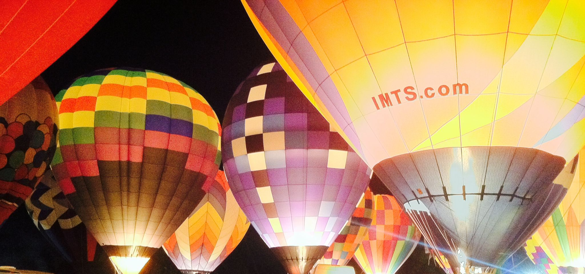 Great Forest Balloon Fest! They make me so happy!