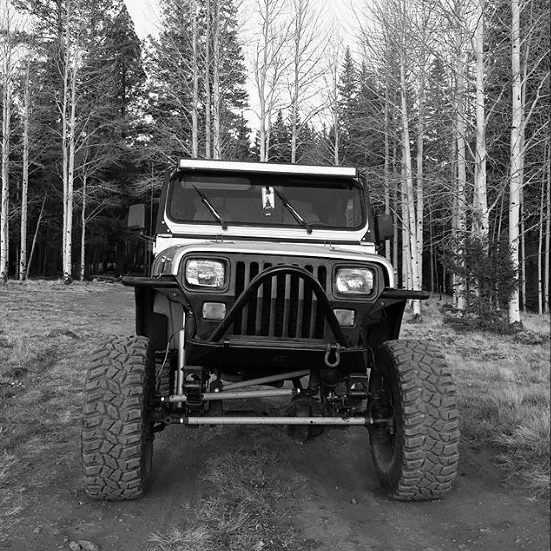 Logancoker Making Our Ruffstuff Shackles Spring Perches U Bolts Antiwrap Bar And Steering Look Real Real Good Jeepporn R Jeep Life Jeep Yj Jeep