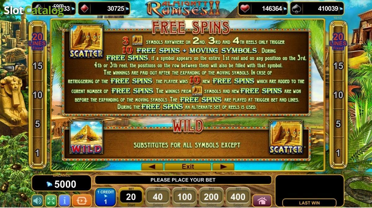 Ramses ii слот