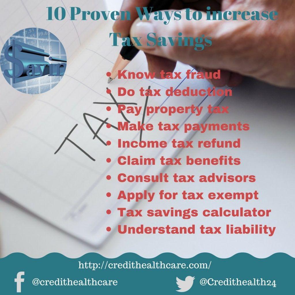 How to increase tax savings in 2018 savings calculator