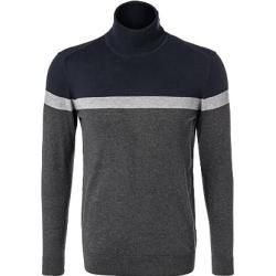 Photo of Gas turtleneck sweater men, cashmere, blue gas