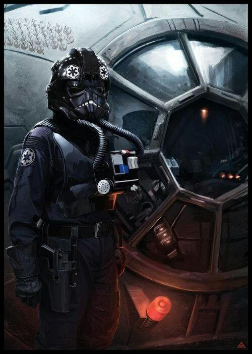 Resultado de imagen de pilotos tie star wars
