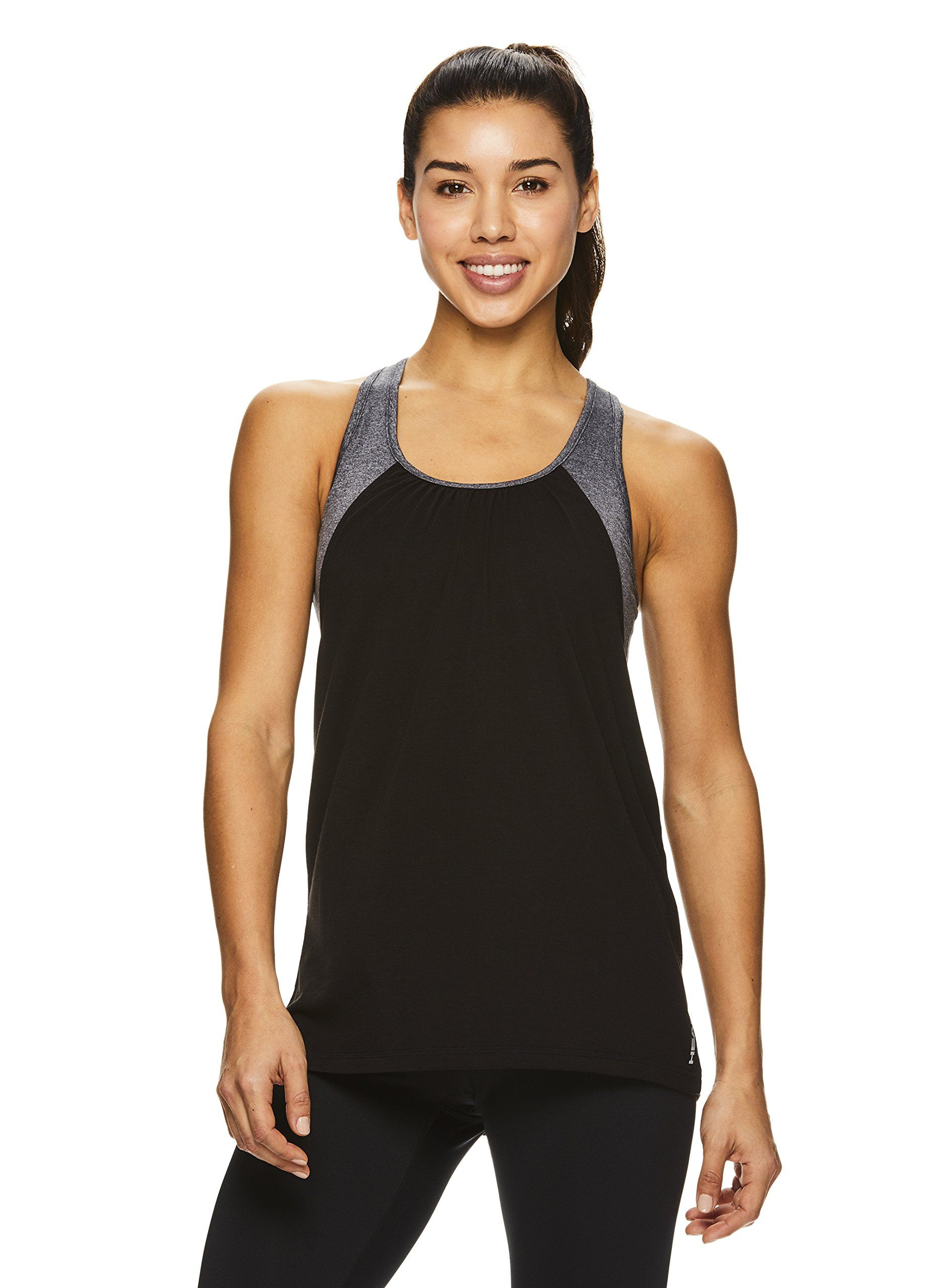 fa9429d294e pregnancy workout - HEAD Womens Contender Racerback Workout Tank Top w/Built  in Shelf Sports Bra Black Contender Medium * Find out more about the  terrific ...