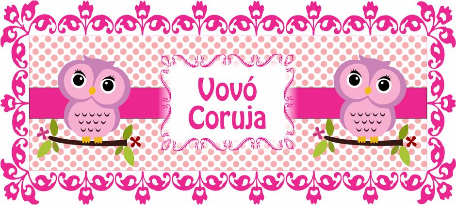 Vovó Coruja – Luck Lembranças | vetores | Mug designs ...