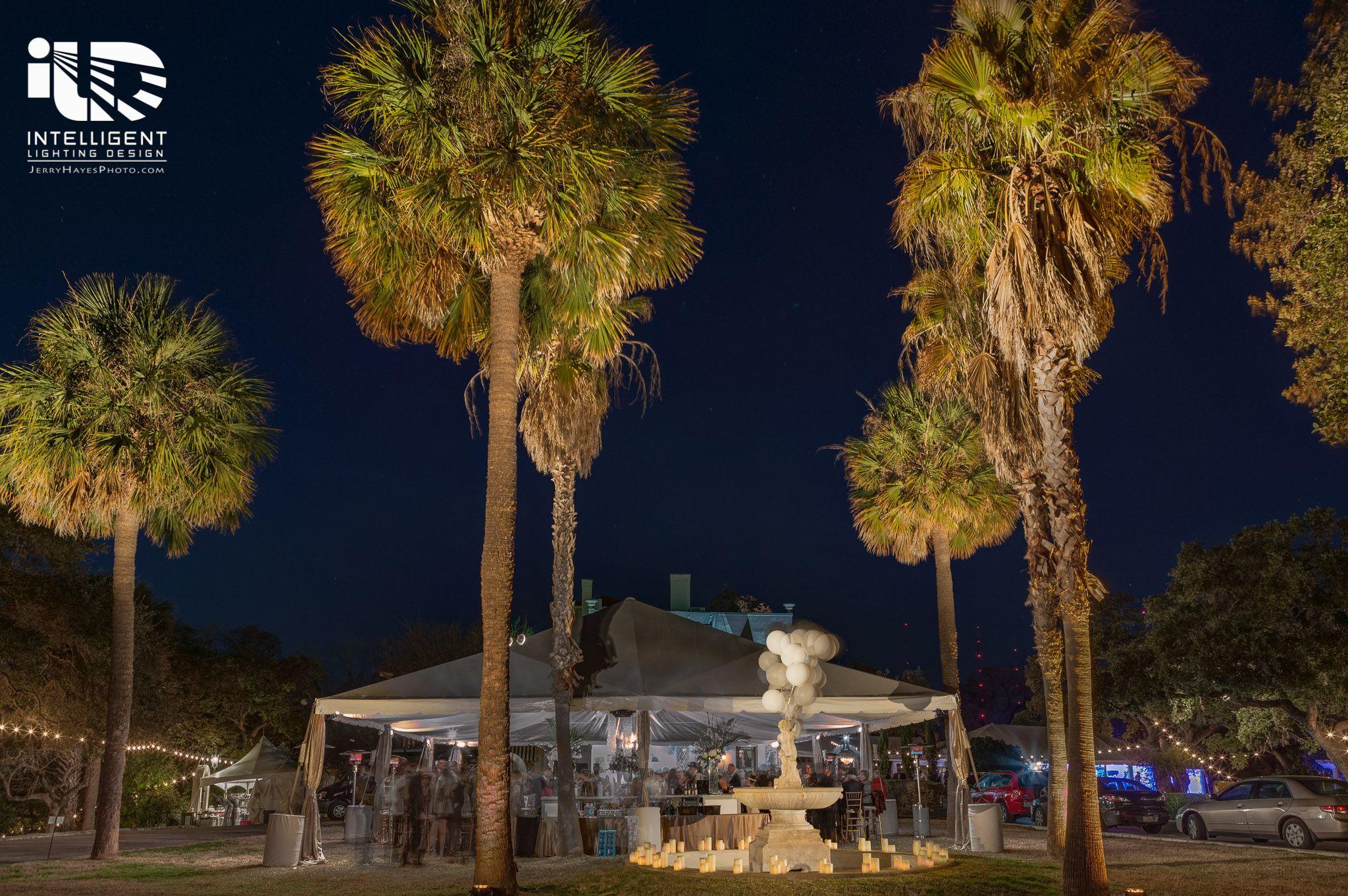 Laguna Gloria Corporate Event Outdoor Lighting Tent