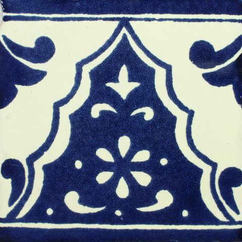Traditional Mexican Border Tile - Sierra - Mexican Tile Designs