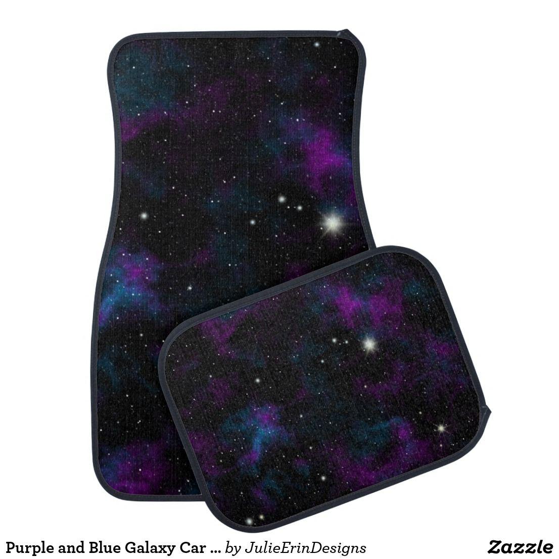 Purple and Blue Galaxy Car Mats | Zazzle.com