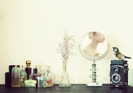 Dressing table inspiration.