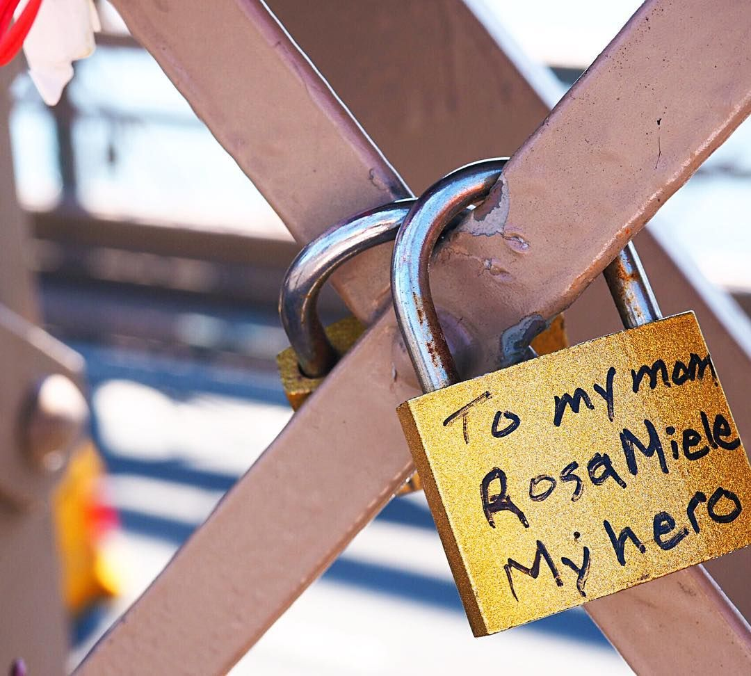 new york love lock with images  love lock instagram